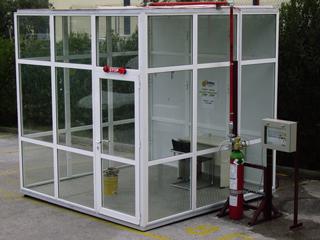 Safe Antincendi spa - Protecting your assets - Servizi - Prova a fuoco agente estinguente pulito